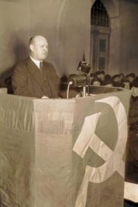 Ernst Thälmann (1886 - 1944), KPD Vorsitzender