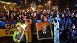 Vorbild für viele Oppositionelle: der Nazi-Kollaborateur Stepan Bandera (1909-1959)