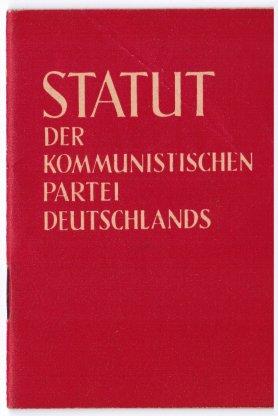 KPD-Statut
