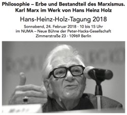 Hans Heinz Holz Tagung 2008