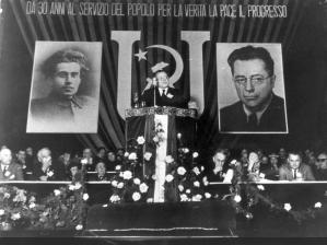Togliatti Rede auf Kongress der PCI 1951